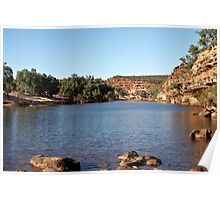 Murchison River ~ Kalbarri National Park Poster
