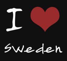 I love Heart Sweden Kids Tee
