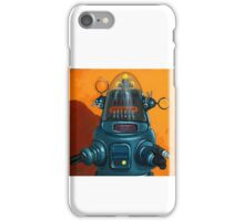 Forbidden Planet - robot painting iPhone Case/Skin