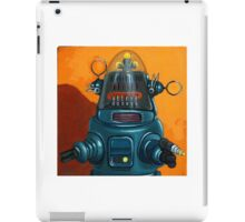 Forbidden Planet - robot painting iPad Case/Skin
