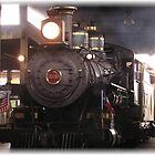 steam locomotive by Jamaboop