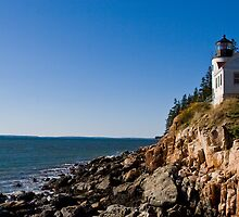 Bass Harbor Lighthouse by Baillyphoto