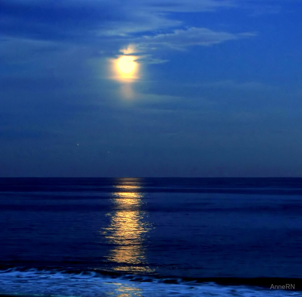 Moon Over the Atlantic by AnneRN