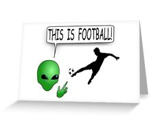 This Is Football Greeting Card