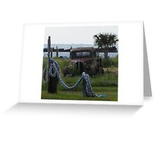 Rusty truck full Greeting Card