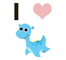 I heart Nessie by Eggtooth