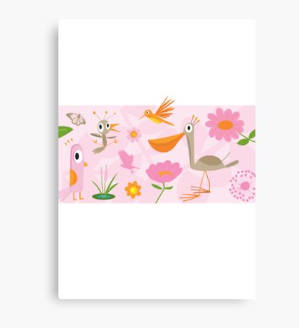 Amelia Bloom Canvas Print
