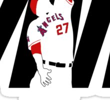 """Mike Trout """"MVP"""" Sticker"""