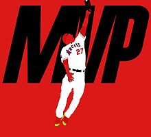 "Mike Trout ""MVP"" by BeinkVin"