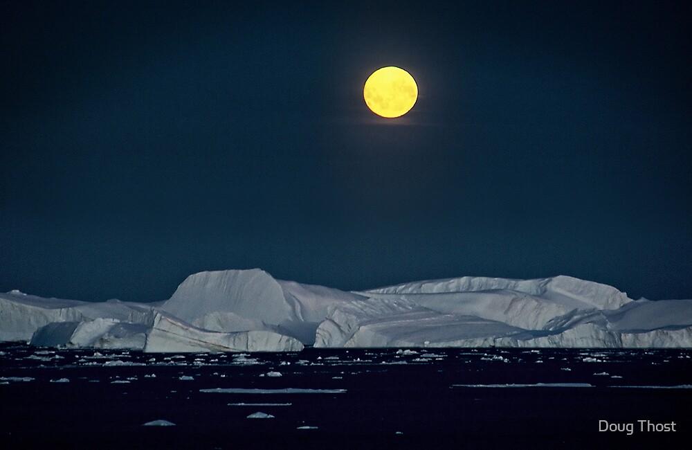 Antarctic Moonrise by Doug Thost