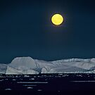 Antarctic Moonrise by Doug Thost