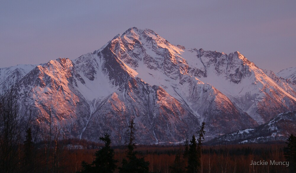 Alpenglow by Jackie Muncy