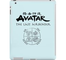 Avatar, the Last Airbender, Four Nations, Ang iPad Case/Skin