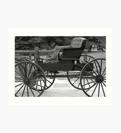 Amish Buggy 2 Art Print