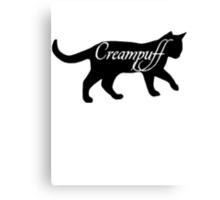 Carmilla the Creampuff Canvas Print