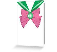 Galactic Sailor Jupiter Bow Greeting Card