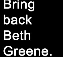 The Walking Dead - Beth Greene by Emma Kiiskila