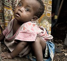 Orphan, Refugee camp-Goma by Bryn