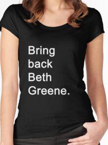 The Walking Dead - Beth Greene Women's Fitted Scoop T-Shirt