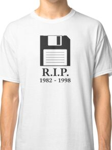 Rest in Peace RIP Floppy Disk Classic T-Shirt