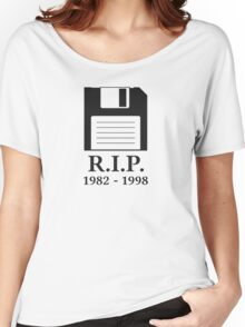 Rest in Peace RIP Floppy Disk Women's Relaxed Fit T-Shirt