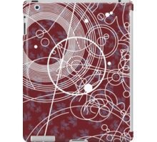 Ten Tie Gallicush - Maroon (Bleed) iPad Case/Skin