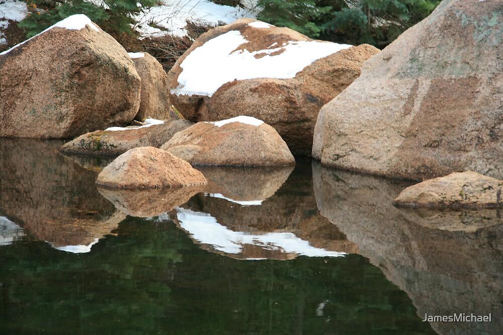 Mountain Lake by JamesMichael