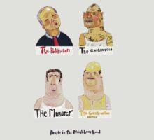 The People in the Neighbourhood series by alejandro cardona