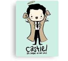 Castiel - Angel of the Lord Canvas Print