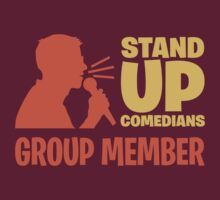 Stand-up Comedians Group Member by rossbubble
