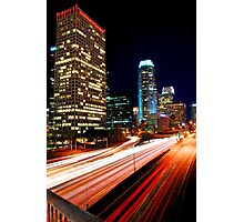 Downtown in LA Photographic Print