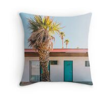 Abandoned Hotel - California Throw Pillow