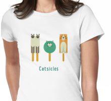 Catsicles II Womens Fitted T-Shirt