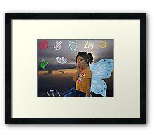 Heaven's Artist Framed Print