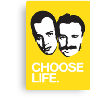 Trainspotting - Choose Life Canvas Print