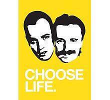 Trainspotting - Choose Life Photographic Print