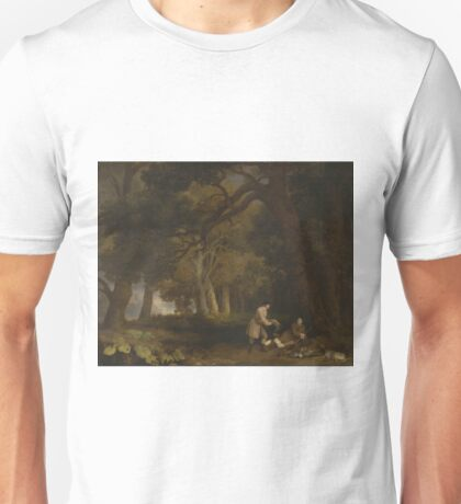 George Stubbs - A Repose After Shooting 1770 Unisex T-Shirt