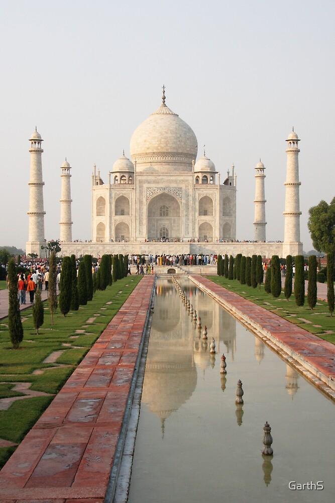 Taj Mahal by GarthS