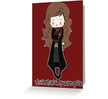 The Name's Hermione Granger Greeting Card