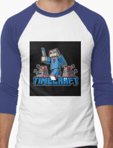Timecraft Men's Baseball ¾ T-Shirt
