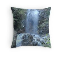 Waterfalls in November Throw Pillow