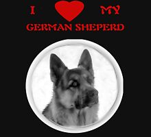 I LOVE MY GERMAN SHEPERD T-SHIRT Unisex T-Shirt