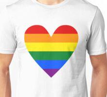 LGBT heart Unisex T-Shirt