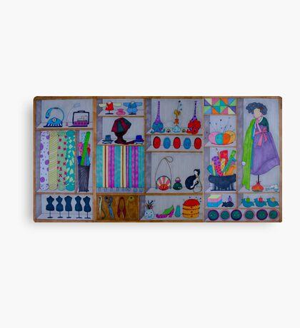 Korean Boudoir Canvas Print