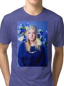 I'm Blue Tri-blend T-Shirt