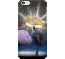 The Power of the Fungal Planet iPhone Case/Skin