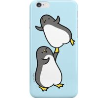 I Can Help You Fly - Dancing Penguins iPhone Case/Skin