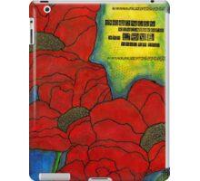 Mama's Poppies -FINAL iPad Case/Skin