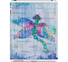 Journey of the Dragonfly iPad Case/Skin