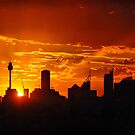 City of Sydney silhouette by andreisky